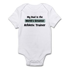 Worlds Greatest Athletic Trai Infant Bodysuit