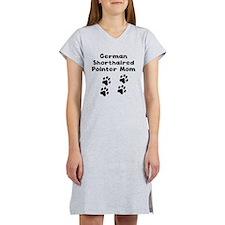 German Shorthaired Pointer Mom Women's Nightshirt
