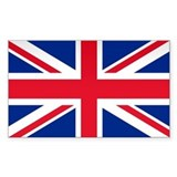 Britain Flag Rectangle Decal