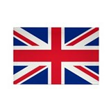 Union jack Rectangular Magnet