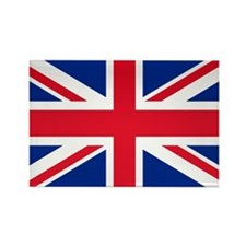 Britain Flag Rectangle Magnet