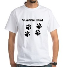 Staffie Dad T-Shirt