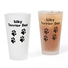 Silky Terrier Dad Drinking Glass