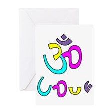 Ohm love Greeting Cards