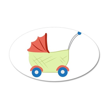 Baby Stroller Wall Decal