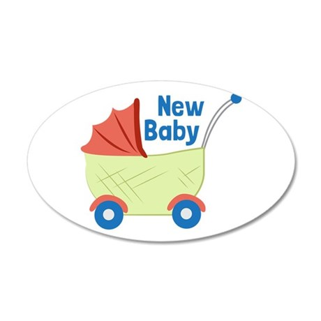 New Baby Wall Decal