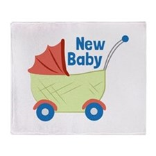 New Baby Throw Blanket