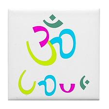 Ohm Love 4 Tile Coaster