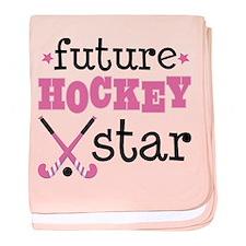 Future Field Hockey Star baby blanket