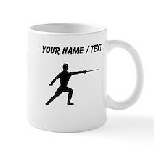 Custom Fencer Silhouette Mugs