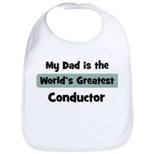 Worlds Greatest Conductor Bib