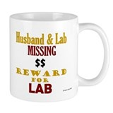 Husband & Lab Missing Mug