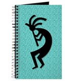 Aqua Kokopelli Gift Journal