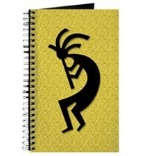 Gold Kokopelli Gift Journal