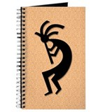 Orange Kokopelli Gift Journal