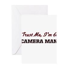 Trust me I'm a Camera Man Greeting Cards