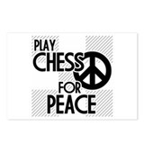 Play Chess For Peace Postcards (Package of 8)
