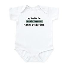 Worlds Greatest Airline Dispa Infant Bodysuit
