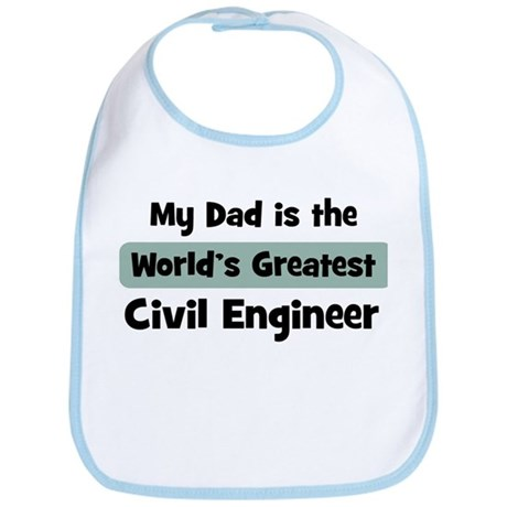 Worlds Greatest Civil Enginee Bib