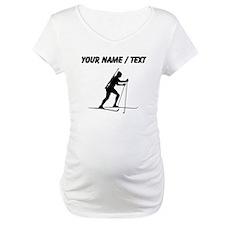 Custom Biathlete Silhouette Shirt