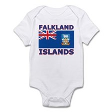 Falkland Islands Flag Infant Bodysuit