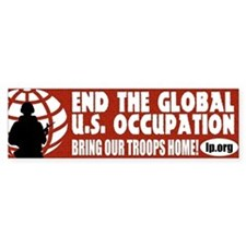 Bring Our Troops Home Bumper Bumper Sticker