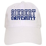 SIEBERT University Baseball Cap