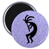 Blue Kokopelli Magnet