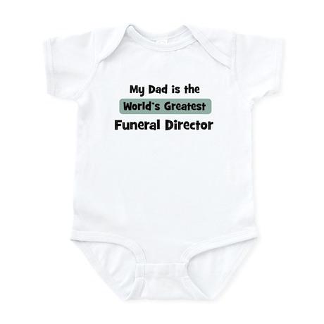 Worlds Greatest Funeral Direc Infant Bodysuit