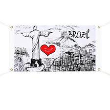 I love Brazil Banner