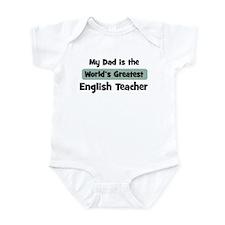 Worlds Greatest English Teach Onesie