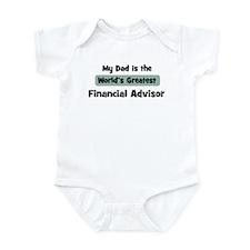 Worlds Greatest Financial Adv Infant Bodysuit