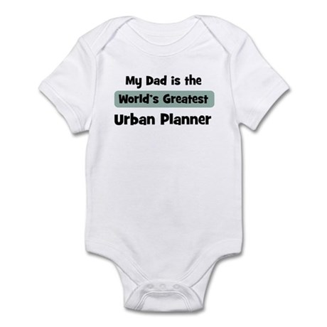 Worlds Greatest Urban Planner Infant Bodysuit
