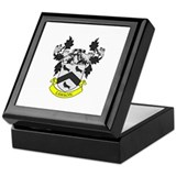 LAWSON Coat of Arms Keepsake Box