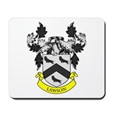 LAWSON Coat of Arms Mousepad