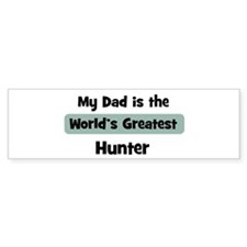 Worlds Greatest Hunter Bumper Bumper Sticker