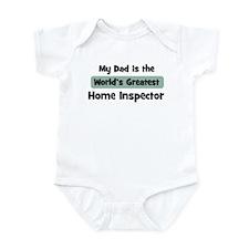 Worlds Greatest Home Inspecto Onesie