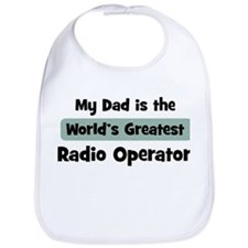 Worlds Greatest Radio Operato Bib
