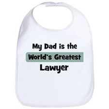 Worlds Greatest Lawyer Bib