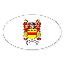 LACY Coat of Arms Oval Decal