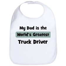 Worlds Greatest Truck Driver Bib