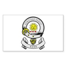 KERR 1 Coat of Arms Rectangle Decal