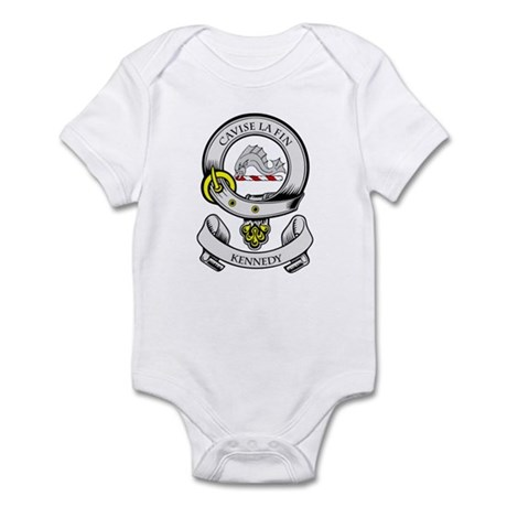 KENNEDY 2 Coat of Arms Infant Bodysuit