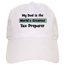 Worlds Greatest Tax Preparer Baseball Cap