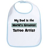 Worlds Greatest Tattoo Artist Bib
