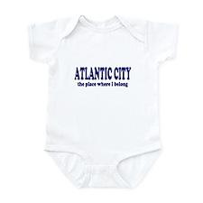 Atlantic City Infant Bodysuit
