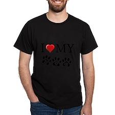 I LOVE MY DOG Gifts T-Shirt