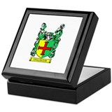 INGHAM Coat of Arms Keepsake Box