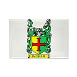 INGHAM Coat of Arms Rectangle Magnet