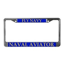 Naval Aviator License Plate Frame